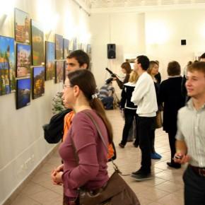 2009-7 открытие выставки в Областной библиотке