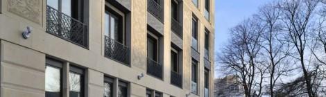 Руководитель бюро SPEECH Сергей Чобан провел экскурсию по жилому комплексу «Гранатный 6»